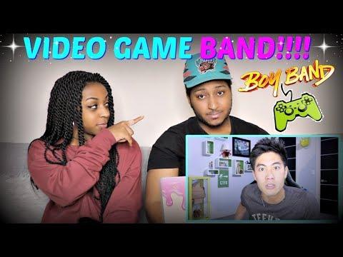 "Nigahiga ""Boy Band Gaming Music Video! (Dear Ryan)"" REACTION!!!"