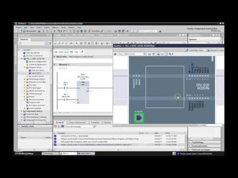 Siemens S7 1200 PLC Programming Tutorial #5 (CTU Counter)