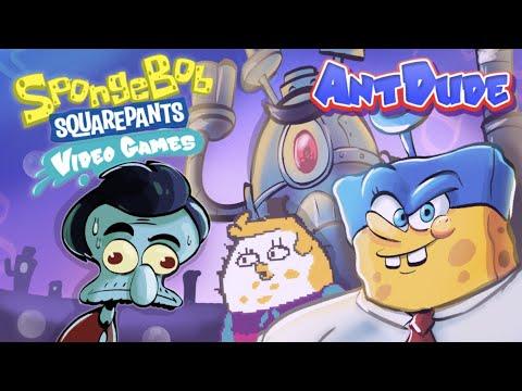 Playing 10 Disastrous SpongeBob Games | Hitting Rock Bottom