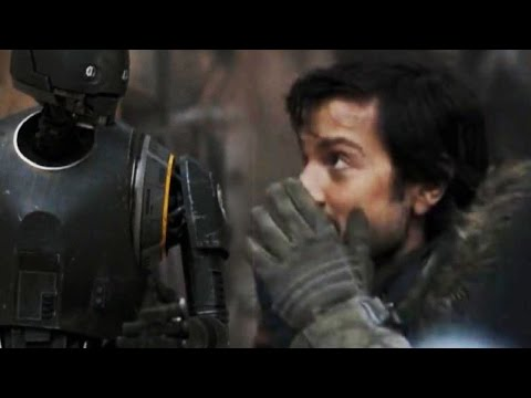 The Moment Diego Luna Starts Laughing in 'Rogue One: A Star Wars Story' Explained
