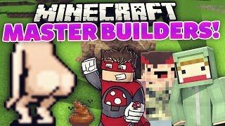 #ungekackt!? - Minecraft MASTER BUILDERS!   ungespielt