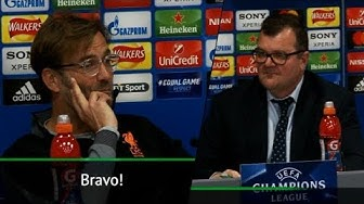 Bravo! Klopp und italienischer Übersetzer sorgen für Lacher auf der Pressekonferenz