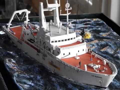 Titanic Wreck Diorama 1 200 Scale Youtube