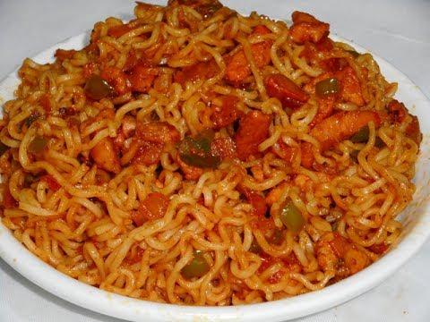 Spicy Chicken Maggi Noodles-Non Veg Maggi Noodles Recipe