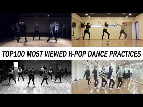 [TOP 100] MOST VIEWED K-POP DANCE PRACTICES • October 2018