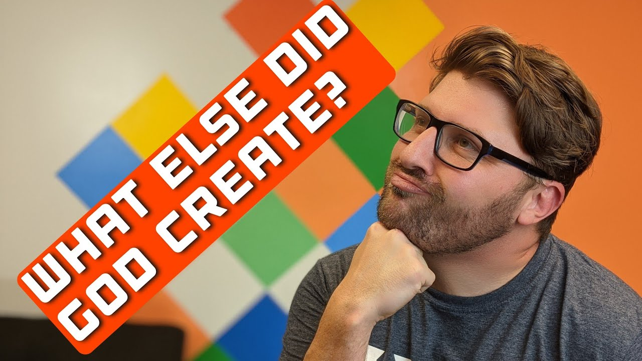 New City Catechism question 5 - What else did God create?