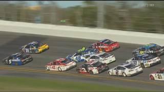 Monster Energy NASCAR Cup Series 2017. Daytona 500. Big One #2