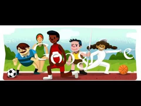 Opening Ceremony 2012 July 27 London XXX Olympiad Google Doodle