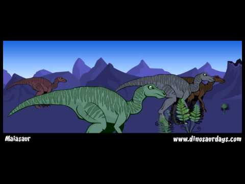 MAIASAUR - the cretaceous period