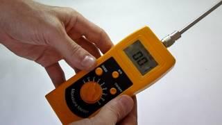 видео Влагомер бетона   Купить измеритель влажности бетона