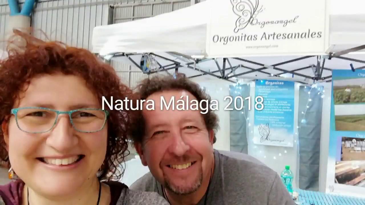 Orgonangel en NATURA MALAGA 2018 por Mari Carmen Lozano y Juan Izquierdo - Orgonangel