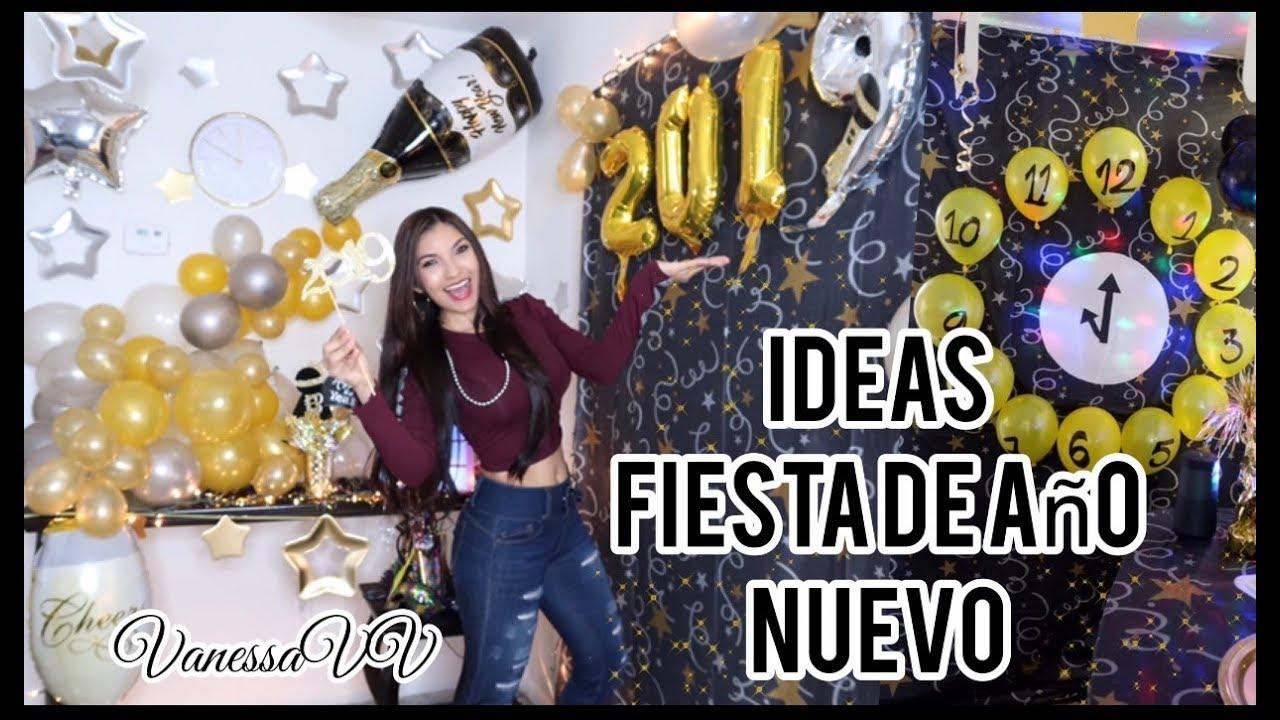 Ideas Para Decorar Fiestas De Año Nuevo 2019
