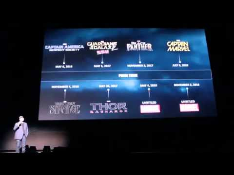 Marvel Phase 3 - Announcement of 9 Movies