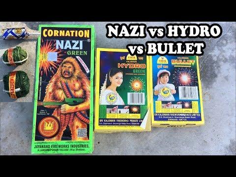 Cock Brand Bullet vs Hydro vs Cornation Nazi - Loudness Test