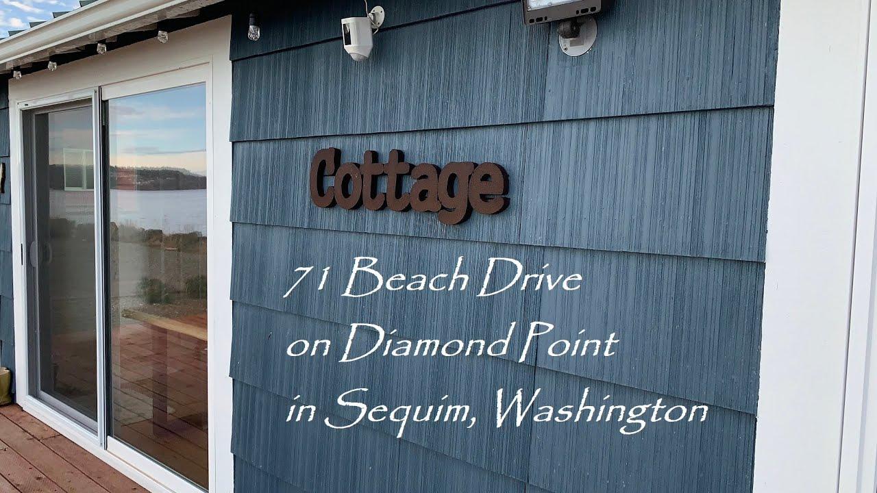 71 Beach Drive on Diamond Point in Sequim, Washington