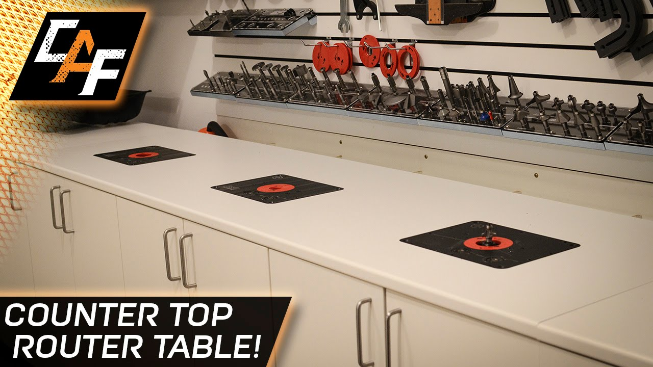 How to build a router table add a lift to a counter top how to build a router table add a lift to a counter top caraudiofabrication youtube keyboard keysfo