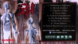 DEATH - 'HUMAN' Reissue (Full Album Stream)