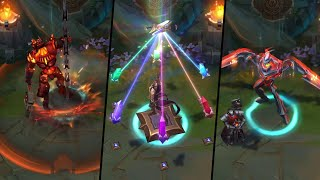 VICTORIOUS LUCIAN, BATTLECAST AND RESISTANCE SKINS PBE PREVIEW!