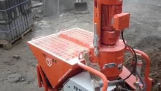pft g4x spraying monocouche in single phase