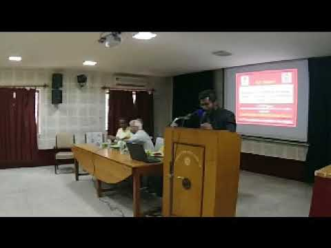 felicitation of guests and inaugural talk by Principal investigator  of UGC SRIELI ,JU