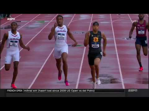 MICHAEL NORMAN 43.61 🔥 - Men's 400m Final  NCAA Outdoor Championships Eugene 2018
