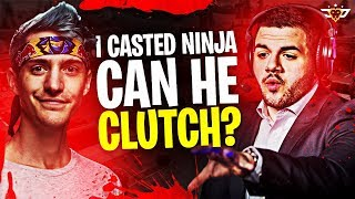 I FINALLY CASTED NINJA! CAN HE CLUTCH?! (Fortnite: Battle Royale)