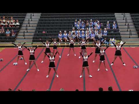 Ft. Jennings Junior High School Cheerleaders Competition 7-28-2018