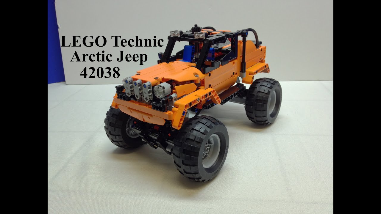 lego technic arctic jeep 42038 b model heavily modified. Black Bedroom Furniture Sets. Home Design Ideas