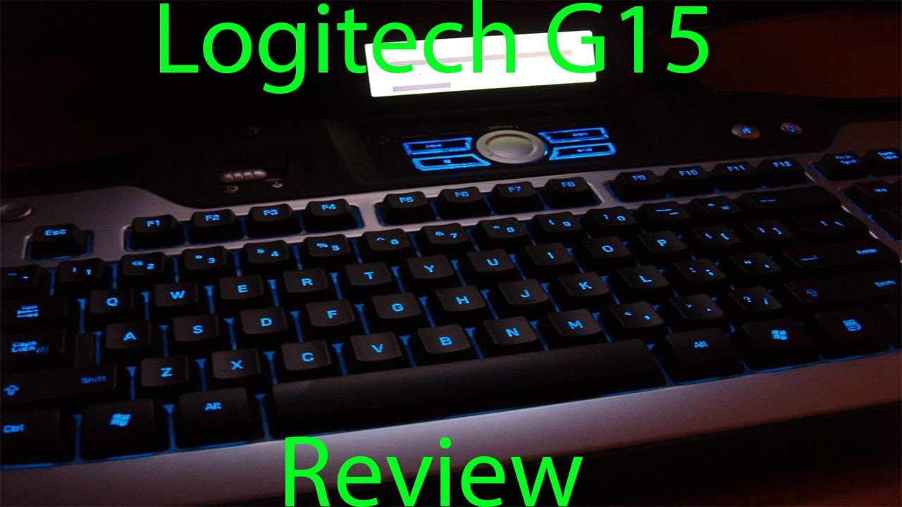 Logitech G15 Gaming Keyboard Drivers for Mac