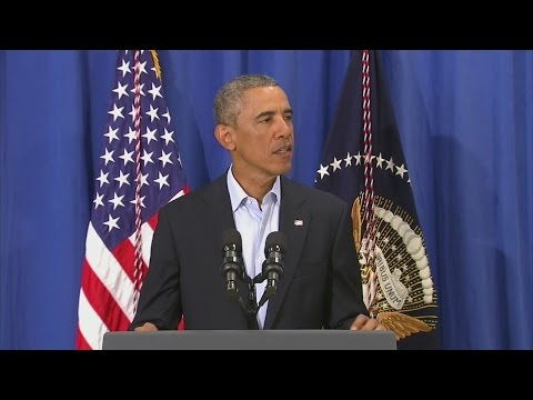 Pres. Obama speaks about the murder of James Foley