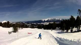 Vídeo de la Estación de Esquí de Formigueres (Pirineo Francés)