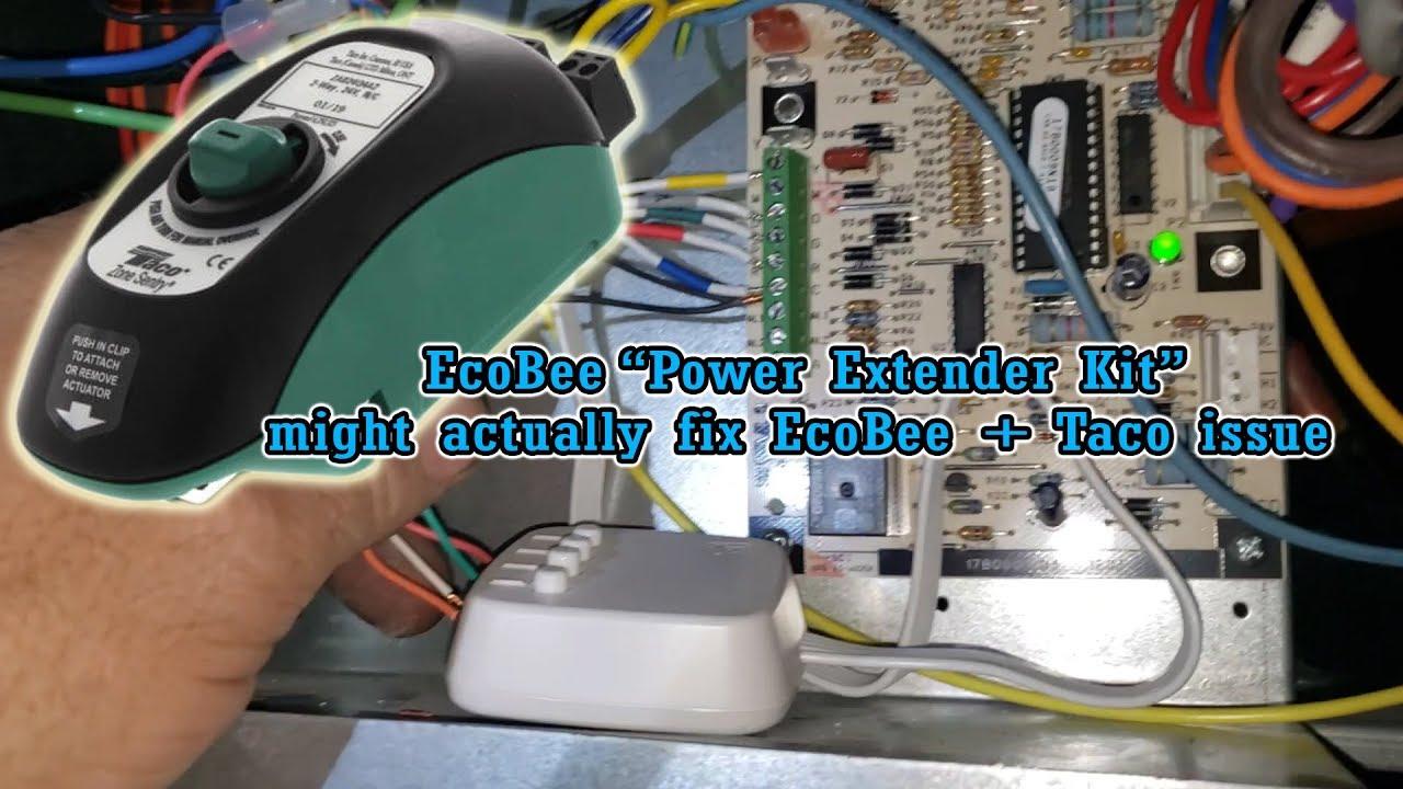 Ecobee  U0026quot Power Extender Kit U0026quot  Fixes Ecobee   Taco Actuator