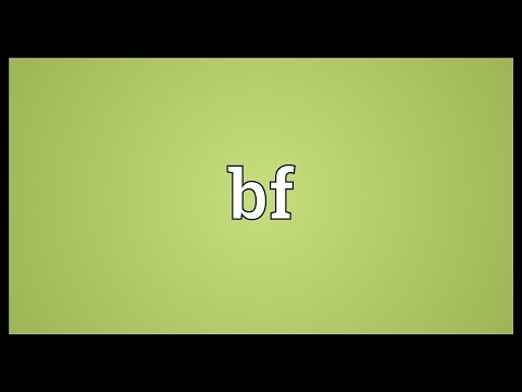 Bf Meaning