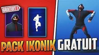 LIVE FORTNITE I OFFER THE IKONIK SKIN! (to 1.5k)