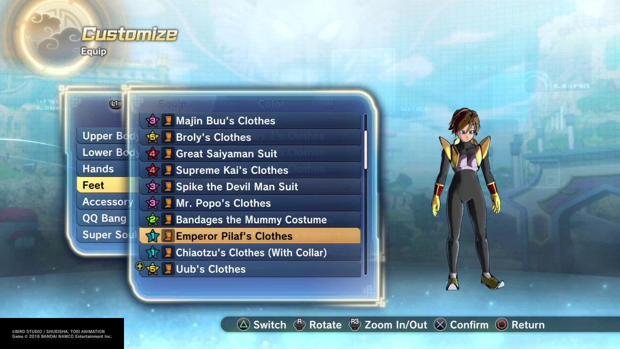 How To Get Super Baby S Clothes In Xenoverse