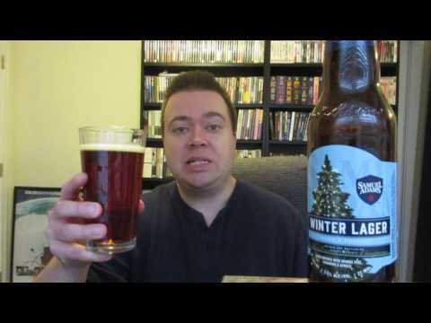 Samuel Adams Winter Lager Beer Review