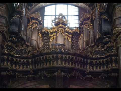 Organ Of Peterskirche Vienna 23102016 Youtube