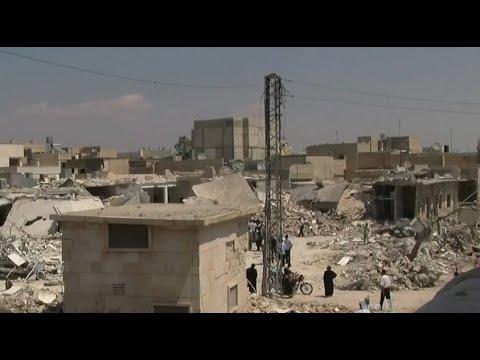 أخبار عربية | 8 قتلى بقصف مدفعي للنظام على حي جوبر في #دمشق