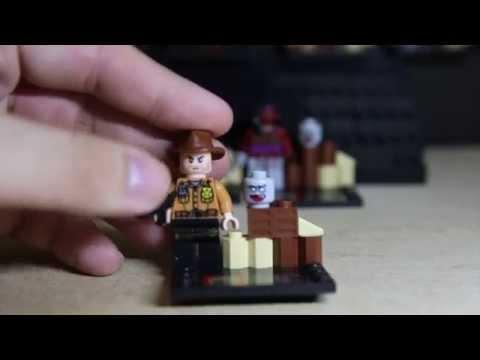 MOC Lego ® Minifigur aus Legoteilen DARYL DIXON The Walking Dead ®