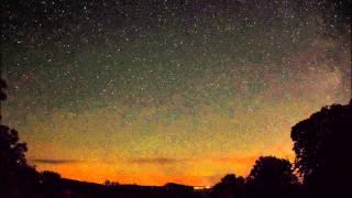 Meteosværmen Perseiderne - natten til den 13/8 2015