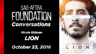 Conversations with Nicole Kidman of LION