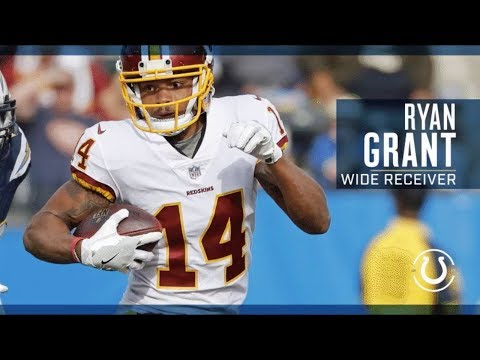 Ryan Grant Welcome to the Colts 2018