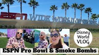 NFL Pro Bowl Events at ESPN Wide World of Sports & Eating Smoke Bombs - Disney World Vlog