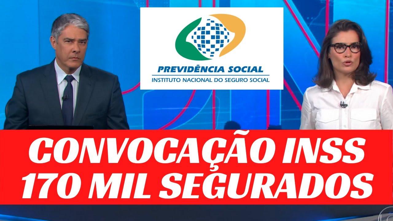 CONVOCAÇÃO GERAL INSS - 170 mil SEGURADOS PRECISAM FICAR ATENTOS PARA NÃO TER O BENEFÍCIO SUSPENSO