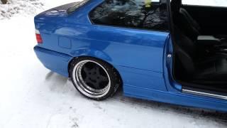 bmw e36 320i coupe sound