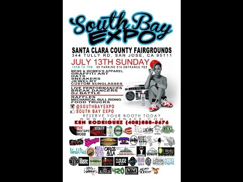 South Bay Expo, Santa Clara County Fairgrounds, Hosted by DJ