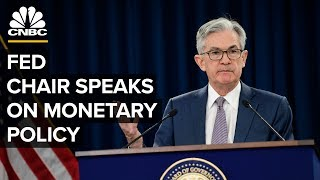 Fed Chair Jerome Powell speaks on monetary policy amid coronavirus pandemic - 4/29/2020