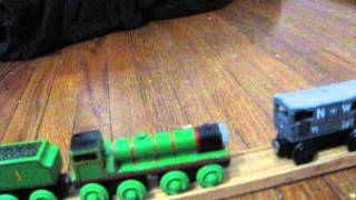 My Wooden Railway Collection As Of 2-21-2013