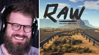 New Open World Survival Game \\ RAW - Kickstarter Trailer 2019 ( REACTION )