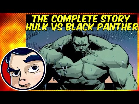 Totally Awesome Hulk Vs Black Panther (Civil War 2) - ANAD Complete Story